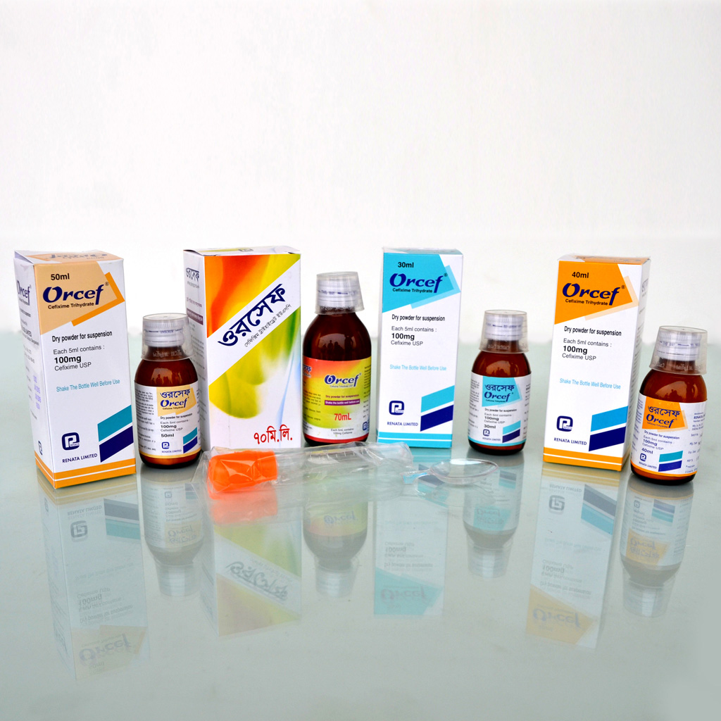 Pharmaceuticals - Orcef DPS